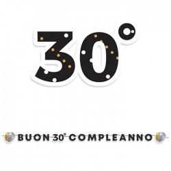 Kit scritta Maxi 30 compleanno