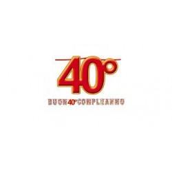 Kit scritta Maxi 40 compleanno