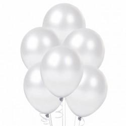 100 Palloncini bianco perlato