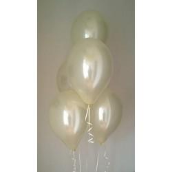 100 Palloncini avorio perlato