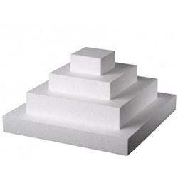 Basi quadrate h 5cm