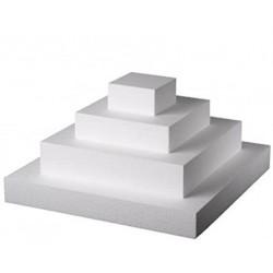 Basi quadrate h 7,5cm