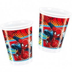 8 ULTIMATE SPIDERMAN BICCH.