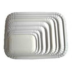 Vassoi in cartone rettangolare